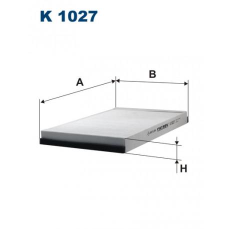FILTRON FILTR KABINY K 1027