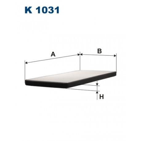 FILTRON FILTR KABINY K 1031
