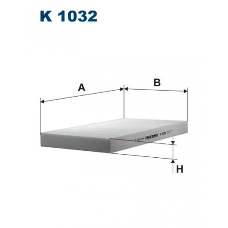 FILTRON FILTR KABINY K 1032
