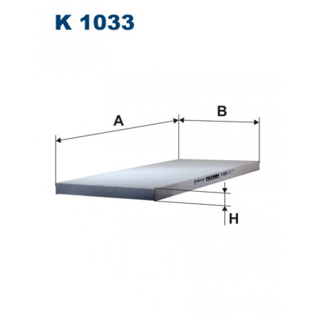 FILTRON FILTR KABINY K1033