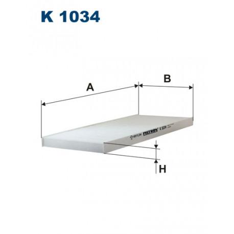 FILTRON FILTR KABINY K1034