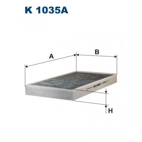 FILTRON FILTR KABINY WEGLOWY K 1035A