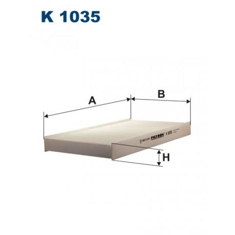 FILTRON FILTR KABINY FIAT BRAVA-O 95-01 K1035