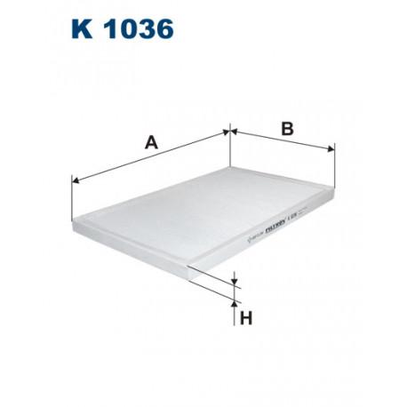 FILTRON FILTR KABINY K 1036