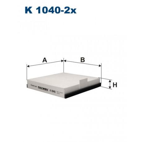FILTRON FILTR KABINY K 1040-2X