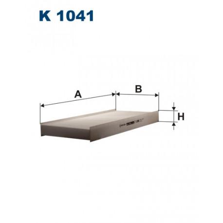 FILTRON FILTR KABINY K 1041