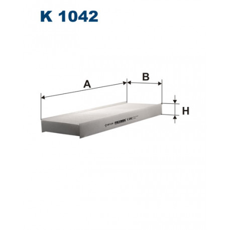 FILTRON FILTR KABINY K1042