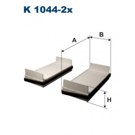FILTRON FILTR KABINY K1044-2X