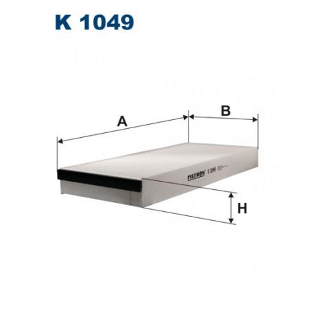 FILTRON FILTR KABINY K 1049
