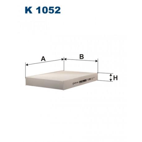 FILTRON FILTR KABINY K 1052