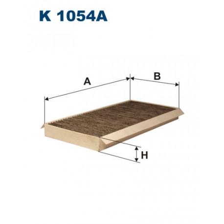 FILTRON FILTR KABINY WEGLOWY K 1054A