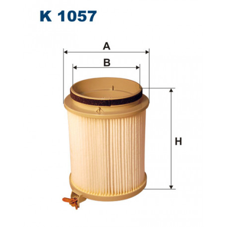 FILTRON FILTR KABINY K 1057