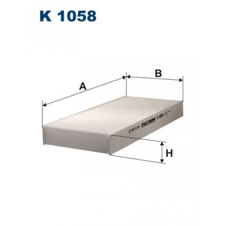 FILTRON FILTR KABINY K 1058