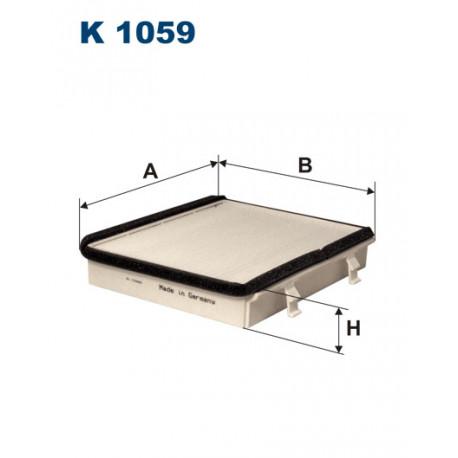 FILTRON FILTR KABINY K1059