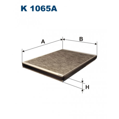 FILTRON FILTR KABINY WEGLOWY K 1065A
