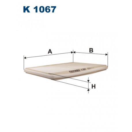 FILTRON FILTR KABINY K 1067