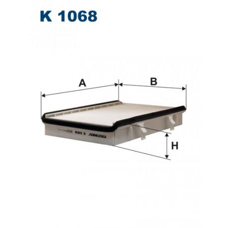 FILTRON FILTR KABINY K1068