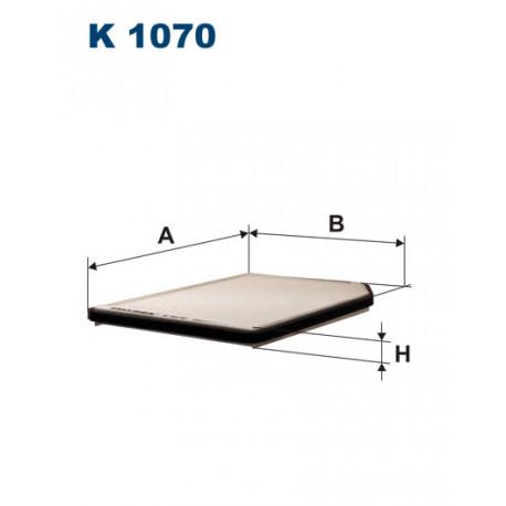 FILTRON FILTR KABINY K1070