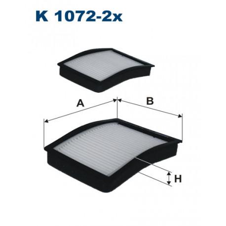 FILTRON FILTR KABINY K1072-2X