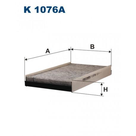 FILTRON FILTR KABINY WEGLOWY K1076A