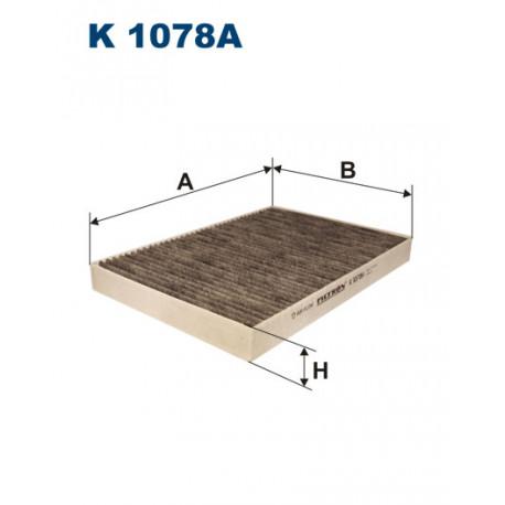 FILTRON FILTR KABINY WEGLOWY K 1078A