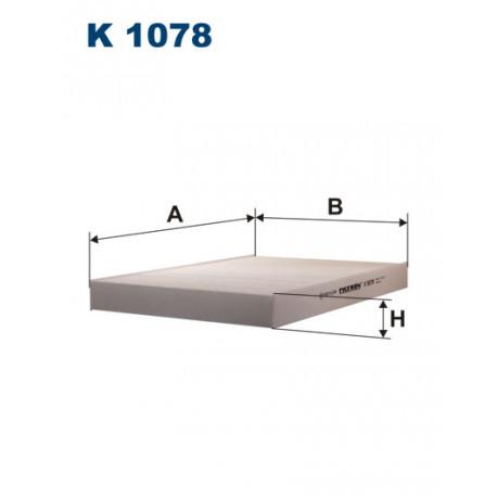 FILTRON FILTR KABINY K 1078