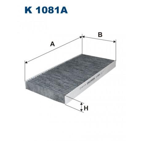 FILTRON FILTR KABINY WEGLOWY K 1081A