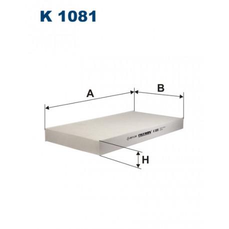 FILTRON FILTR KABINY K 1081