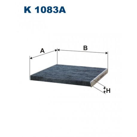 FILTRON FILTR KABINY WEGLOWY K1083A