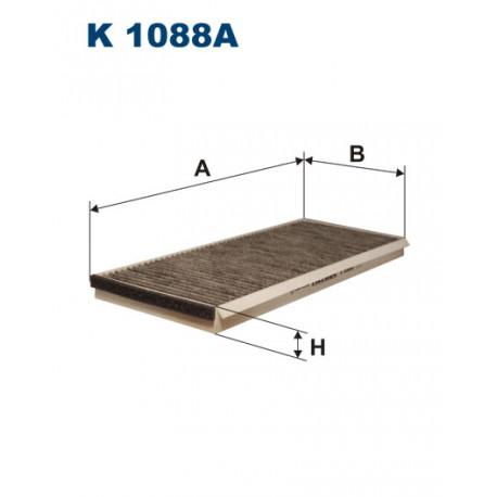 FILTRON FILTR KABINY WEGLOWY K1088A