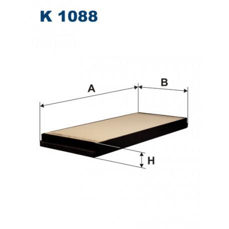 FILTRON FILTR KABINY K1088