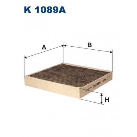 FILTRON FILTR KABINY WEGLOWY K 1089A