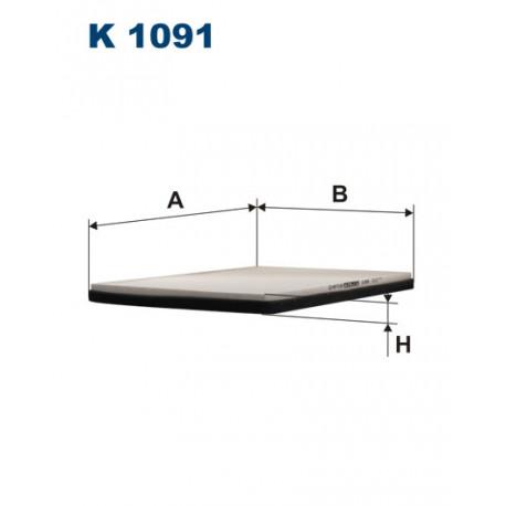 FILTRON FILTR KABINY K 1091