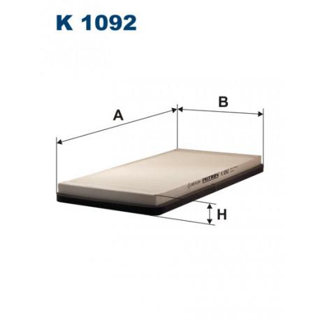 FILTRON FILTR KABINY K 1092