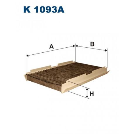 FILTRON FILTR KABINY WEGLOWY K1093A