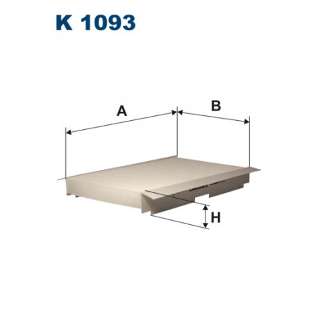 FILTRON FILTR KABINY K1093