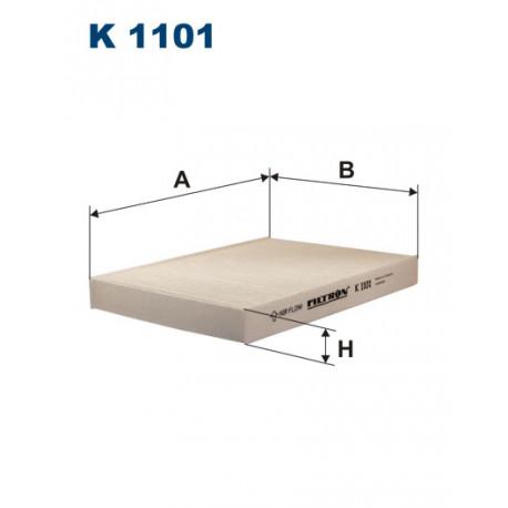 FILTRON FILTR KABINY K1101