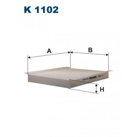 FILTRON FILTR KABINY K 1102