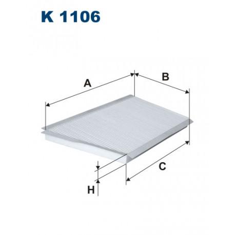 FILTRON FILTR KABINY K1106