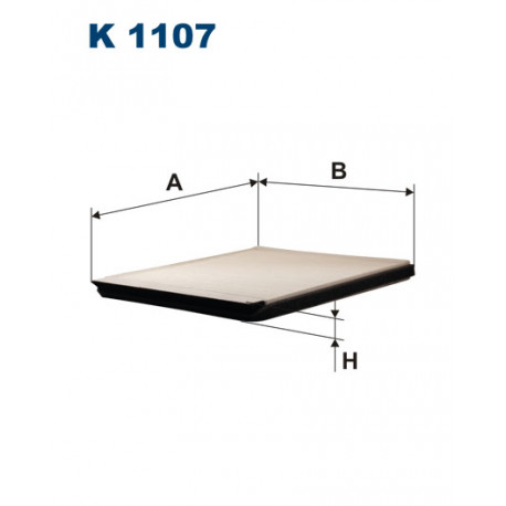 FILTRON FILTR KABINY K1107