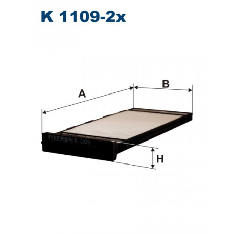 FILTRON FILTR KABINY K1109-2X