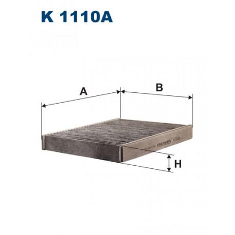 FILTRON FILTR KABINY WEGLOWY K1110A