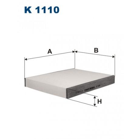 FILTRON FILTR KABINY K1110