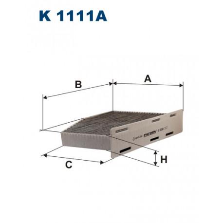 FILTRON FILTR KABINY WEGLOWY K 1111A
