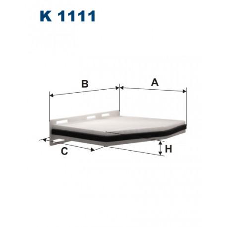FILTRON FILTR KABINY K1111