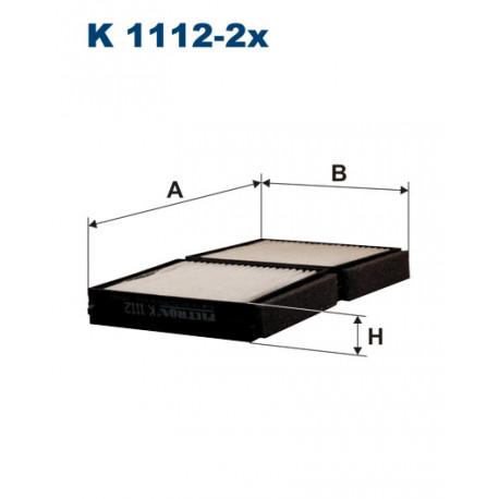 FILTRON FILTR KABINY K1112-2X
