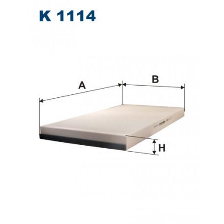 FILTRON FILTR KABINY K 1114