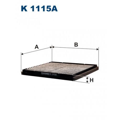 FILTRON FILTR KABINY WEGLOWY K 1115A