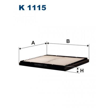 FILTRON FILTR KABINY K1115
