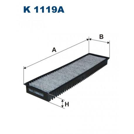 FILTRON FILTR KABINY WEGLOWY K 1119A